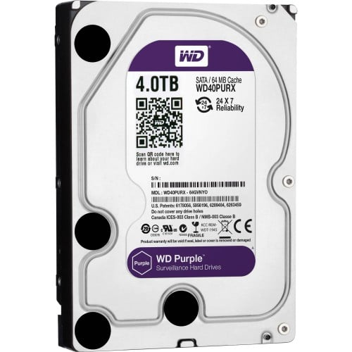 Western Digital 4TB 3.5 PURPLE WD40PURX HDD 500x500 1 1