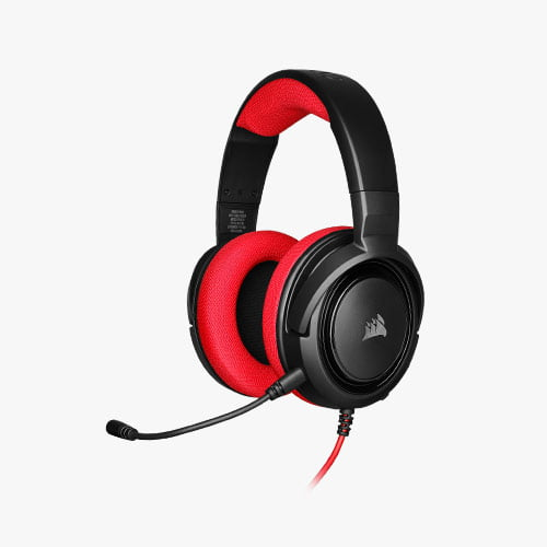 corsair Red hs35 gaming headset Features 3
