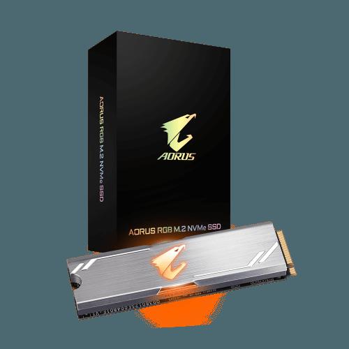 AORUS RGB M2 NVMe SSD 256GB 1 500x500w 1 1