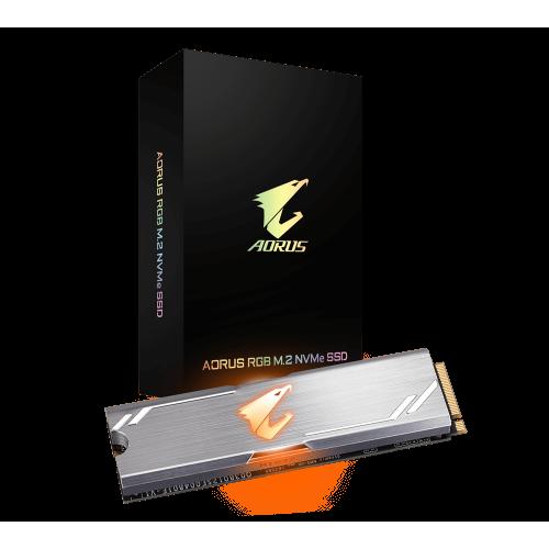 AORUS RGB M2 NVMe SSD 256GB 1 1
