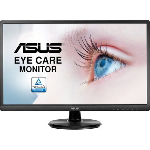 asus va249he eye care full hd monitor review 1