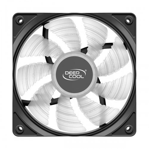 deepcool rf 120 b blue led casing cooling fan 1