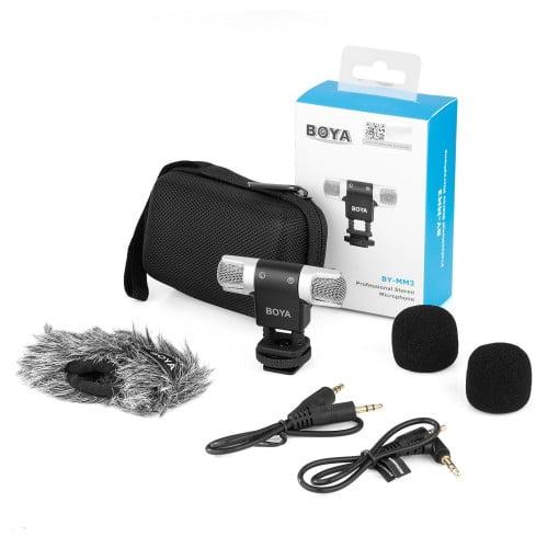 boya by mm3 mini microphone review 500x500 1 2