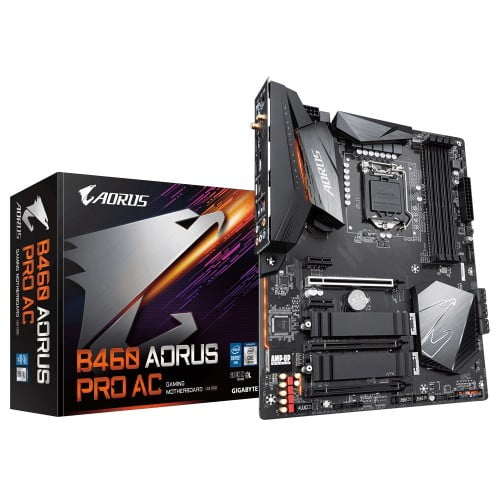 gigabyte b460 aorus pro ac motherboard 1