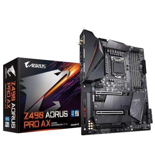 gigabyte z490 aorus pro ax motherboard 1