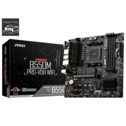 MSI B550M Pro VDH Wi-Fi AMD Motherboard
