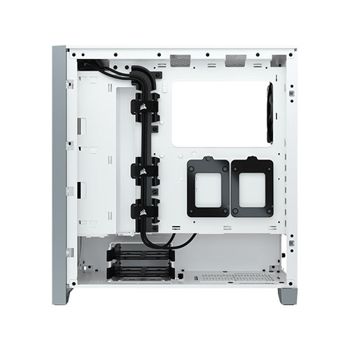 corsair 4000d airflow white casing review 3