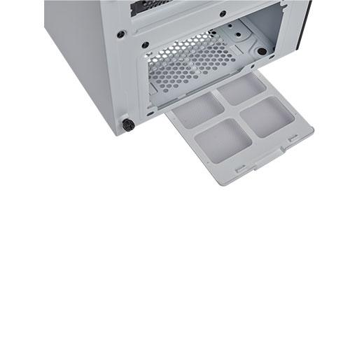 corsair carbide 275r gaming case white airflow 3