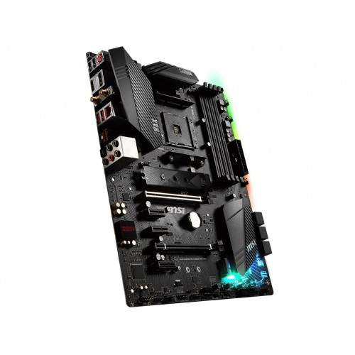 msi b450 gaming pro carbon max wifi motherboard side 3