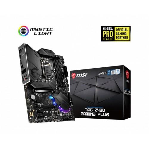 Msi MPG Z490 Gaming Plus Motherboard
